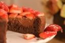 פאדג שוקולד ותותים